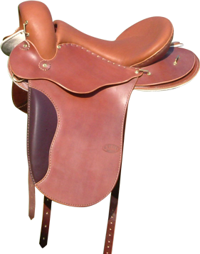 GLOBE RUNNER coloris noisette selle equitation hugues petel