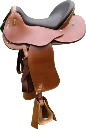 selle equitation hugues petel voyages caramel chocolat