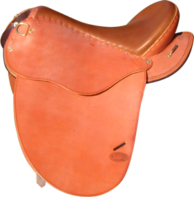 KALIFS coloris caramel selle equitation hugues petel