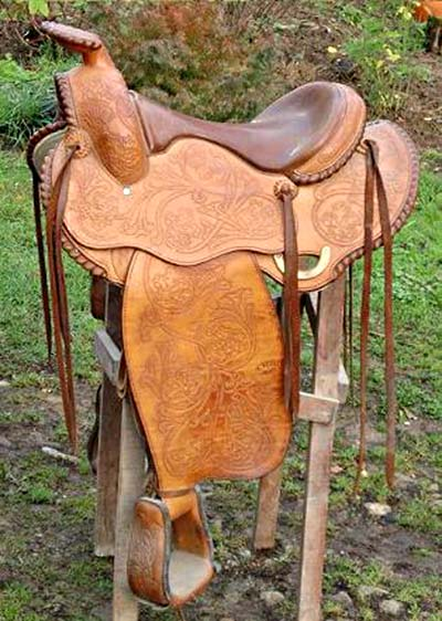 oregon occasion selle equitation hugues petel
